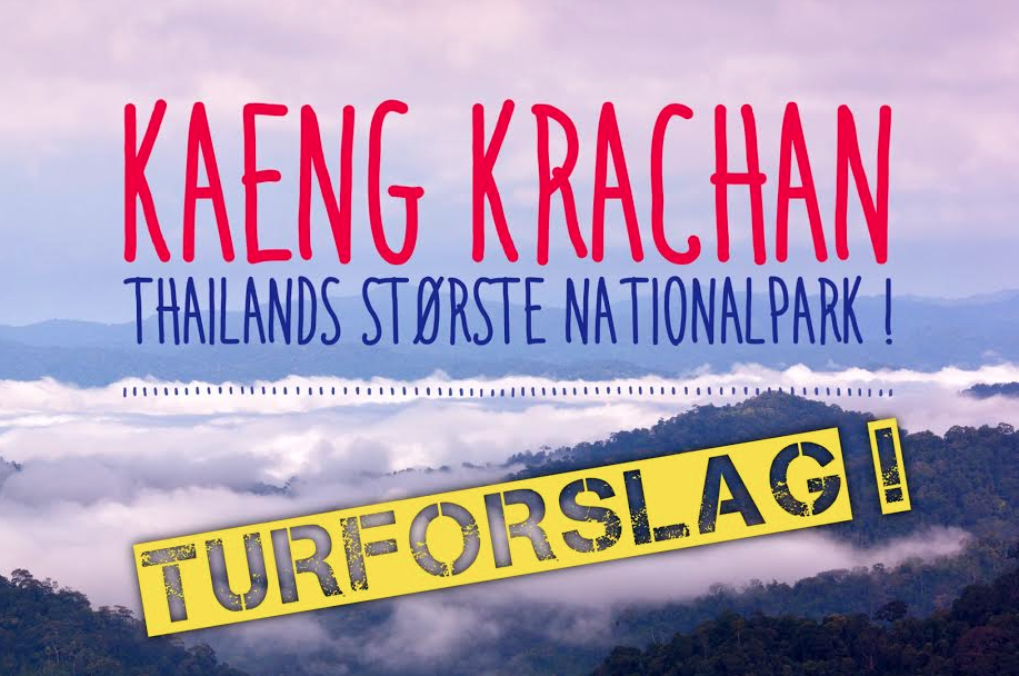 Turforslag - Kaeng Krachan National Park